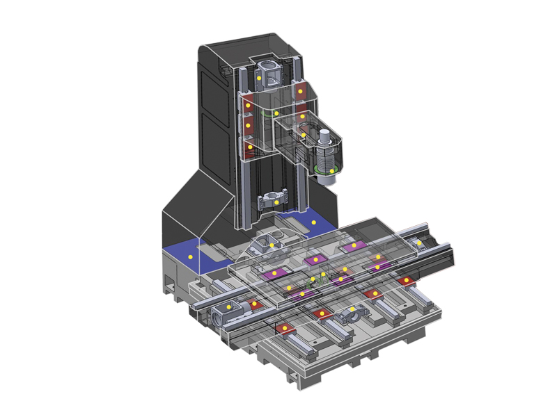Centro di lavoro a 3 assi KINETIC - kinetic-render