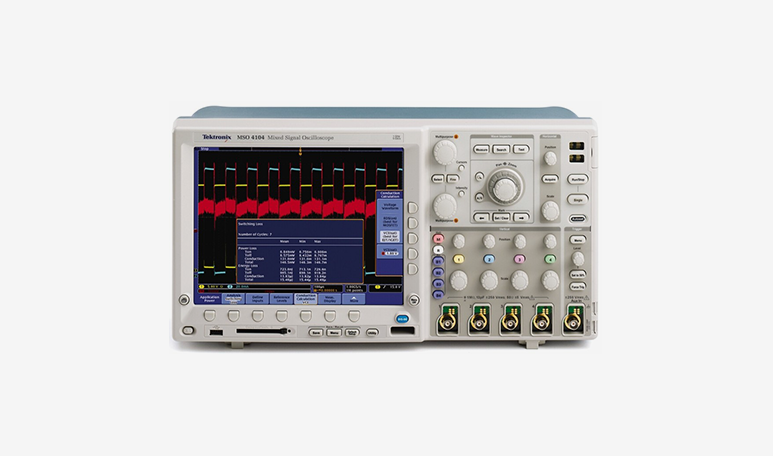 diagnostica meccanica ed elettronica per macchine utensili - oscilloscopio